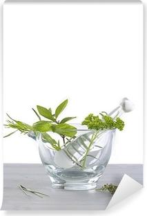 Papier peint vinyle Herbes aromatiques & Médicinales