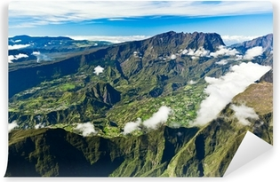 Papier peint vinyle Ile de la Réunion