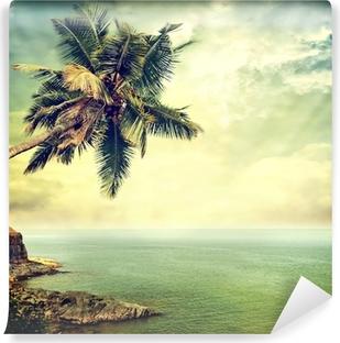 Papier peint vinyle Île tropicale