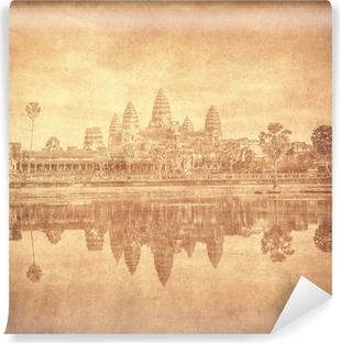 Papier peint vinyle Image de cru d'Angkor Wat, au Cambodge