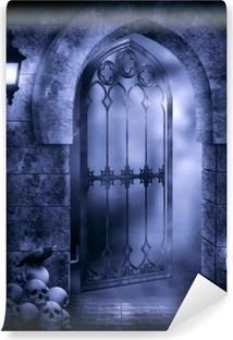 Papier peint vinyle Imagination gothique