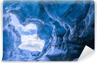 Papier peint vinyle Incroyable grotte glaciaire