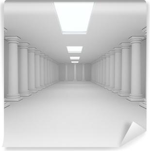 Papier peint vinyle Intérieur avec des colonnes
