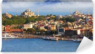 Papier peint vinyle Istanbul à partir de la tour de Galata, Turquie