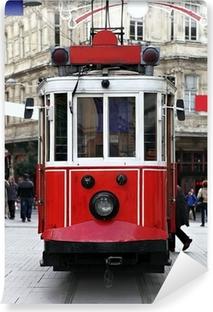 Papier peint vinyle Istanbul Tram publique