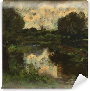 Papier peint vinyle Jacob Maris - Polder après l'orage