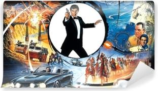 Papier peint vinyle James Bond