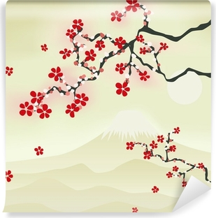 Tableau Sur Toile Japonais De Fleurs De Cerisier Pixers Nous