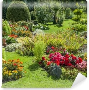 Papiers peints terrasse et jardin fleuri • Pixers® - Nous ...