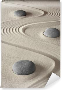 Papier peint vinyle Jardin zen