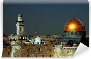 Papier peint vinyle Jérusalem céleste