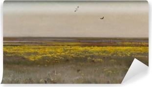 Papier peint vinyle Józef Chełmoński - Le populage des marais