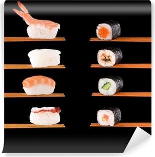 Papier peint vinyle La cuisine japonaise traditionnelle