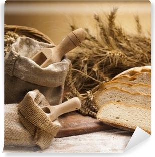 Papier peint vinyle La farine et le pain traditionnel