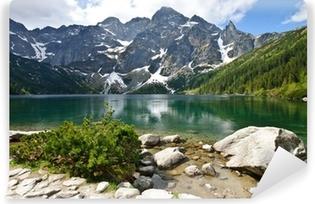 Papier peint vinyle Lac Morskie Oko dans les montagnes Tatras, Pologne