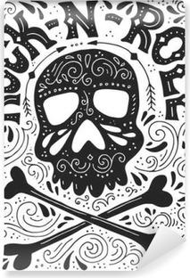 Papier peint lavable Affiche Rock-n-roll
