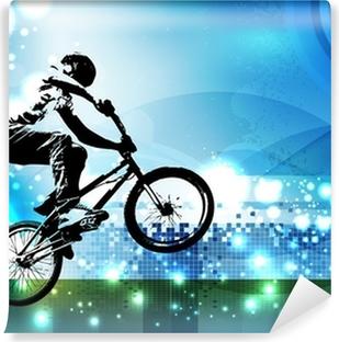 Papier peint lavable Bmx biker