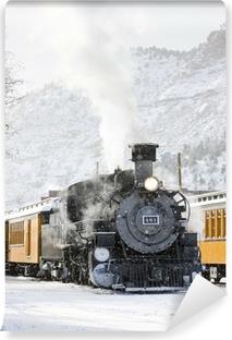 Papier peint lavable Chemin de fer Durango and Silverton Narrow Gauge, Colorado, USA