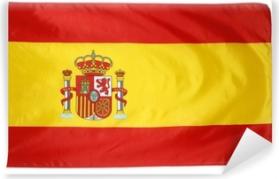 Papier peint lavable Drapeau espagnol