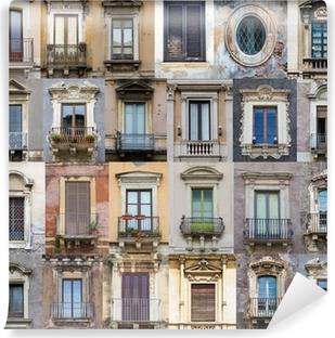 Papier peint lavable Fenêtres de la Sicile