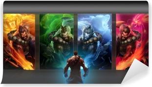 Papier peint lavable League of Legends