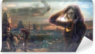 Papier peint lavable Mass Effect