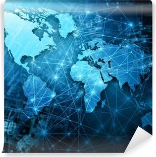 Papier peint lavable Meilleur Concept Internet du commerce mondial de concepts série