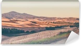 Papier peint lavable Millésime paysage toscan