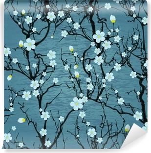 Pentaptyque Modele D Arbre Transparente Fleur De Cerisier Japonais