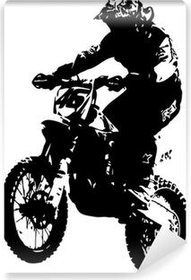 Papier peint lavable Mx rider 2