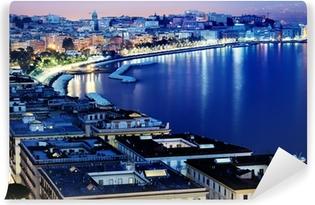 Papier peint lavable Naples magnifique vue panoramique