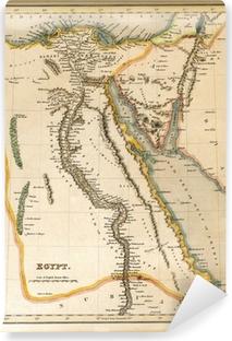 Papier peint lavable Palestine Israël du 19ème siècle Carte