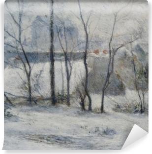 Papier peint lavable Paul Gauguin - Jardin sous la neige I