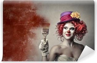 Papier peint lavable Peinture Clown