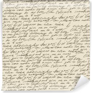 Papier peint lavable Résumé écriture sur le papier vieux millésime. Seamless, vec