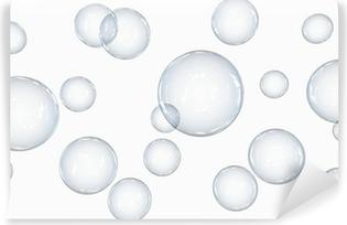 Papier peint lavable Seifenblasen