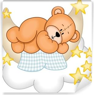 Papier peint lavable Sweet Dreams Teddy Bear