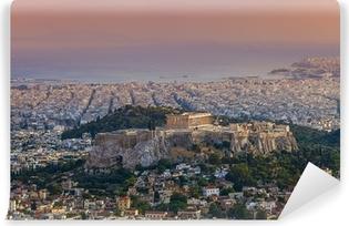 Papier peint lavable Temple du Parthénon sur l'Acropole d'Athènes, Grèce