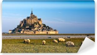 Papier peint vinyle Le Mont Saint Michel, France