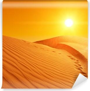 Papier peint vinyle Les dunes de sable au Sahara