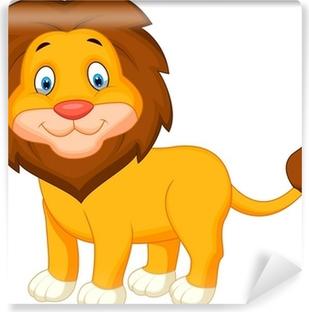 Papier Peint Drôle De Dessin Animé Bébé Lion Pixers Nous Vivons