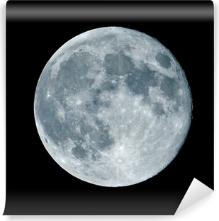 Papier peint vinyle Lune de nuit nocturne