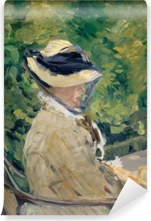 Papier peint vinyle Madame Manet