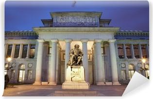Papier peint vinyle Madrid - Musée du Prado dans le crépuscule du matin