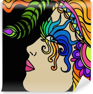 Papier peint vinyle Masque de carnaval
