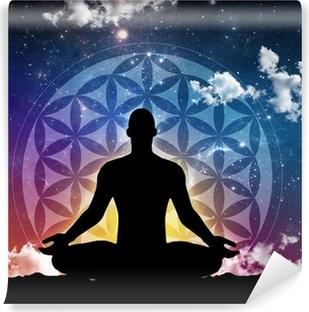 Papier peint vinyle Méditation nuit