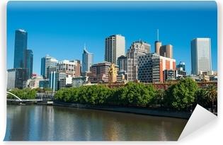 Papier peint vinyle Melbourne Skyline