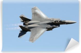 Papier peint vinyle Militaire avion de chasse