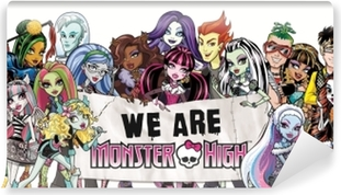 Papier peint vinyle Monster High