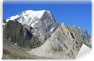 Papier Peint Mont-Blanc et les Alpes reflète dans le lac Blanc ...